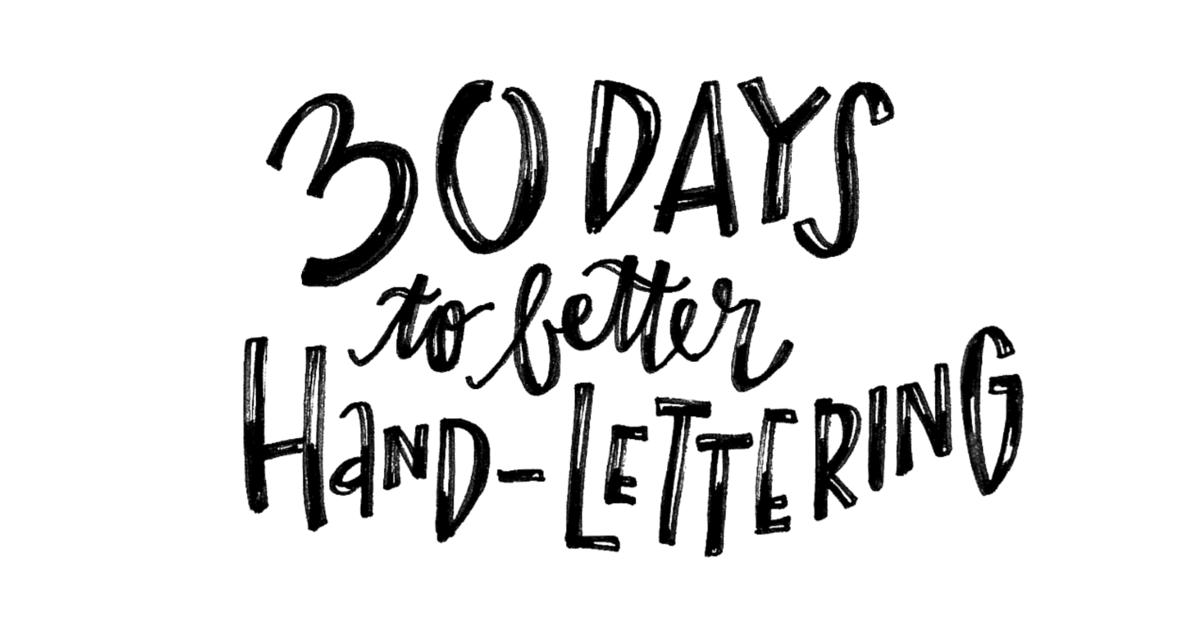corso hand lettering